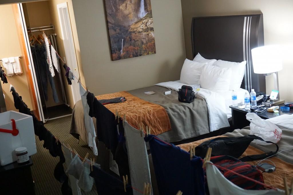 Waslijn door de kamer