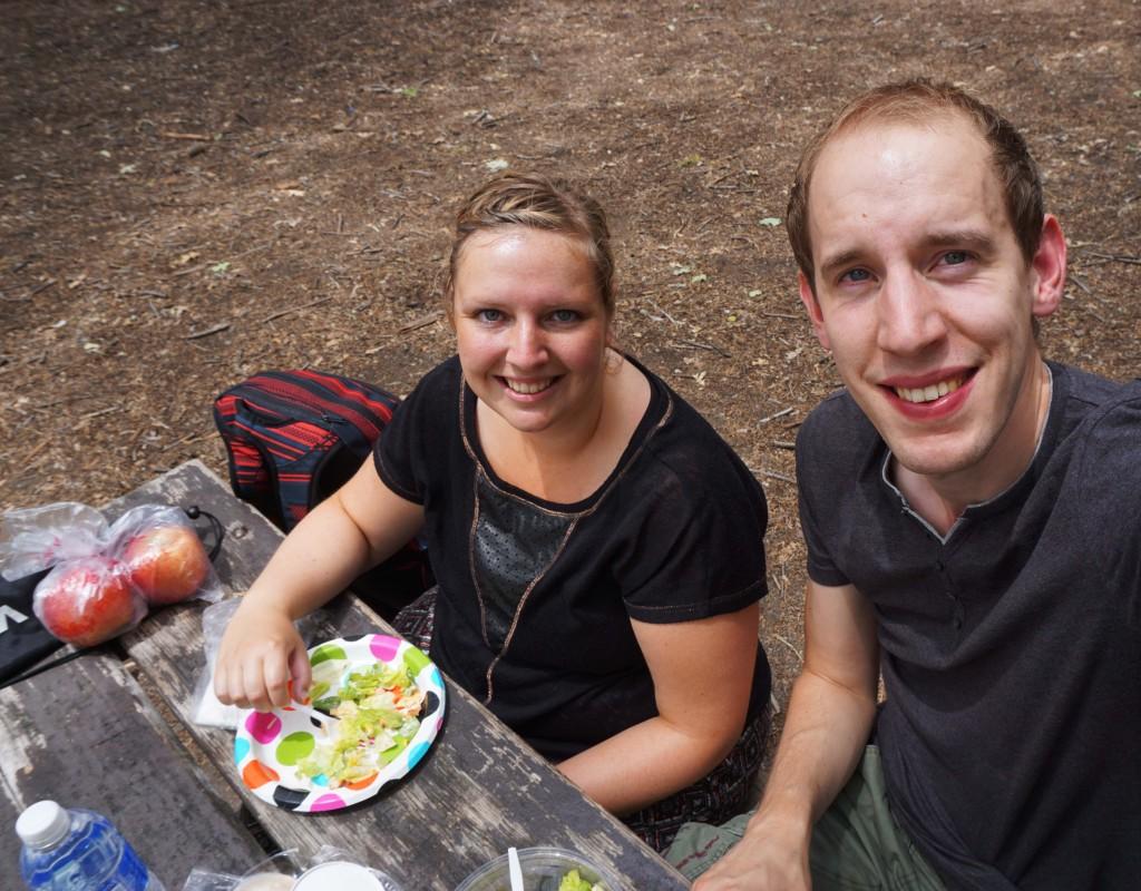 Picknick selfie