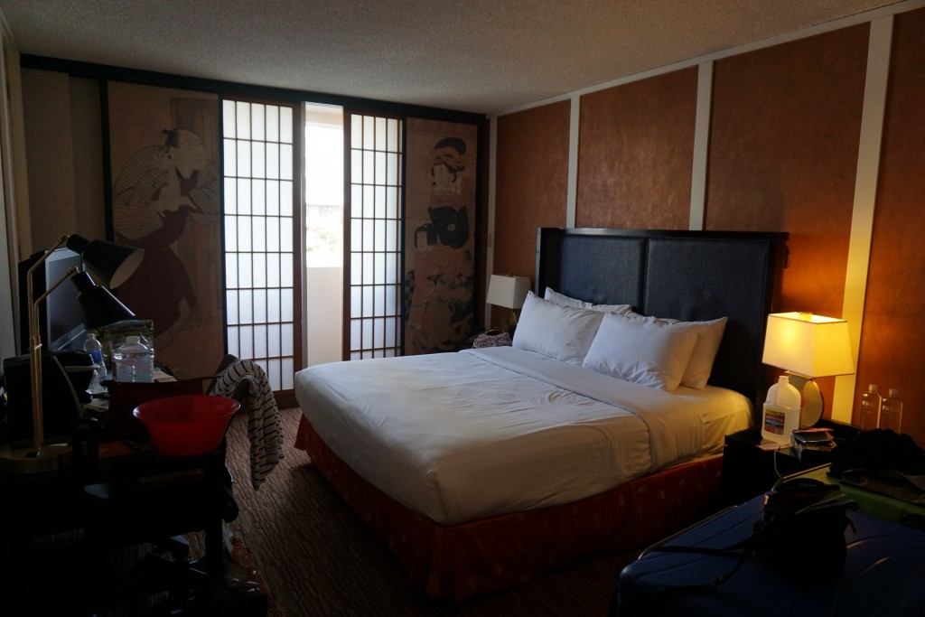 Kamer 810. Leuk in Japanse stijl ingericht